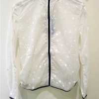 Adidas Transparent Wave point Windbreaker Jacket