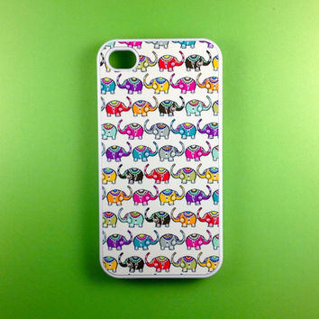Iphone 4 Case - Elephants  Iphone Case, Iphone 4s Case