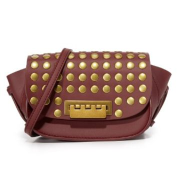 Stud Eartha Small Saddle Bag