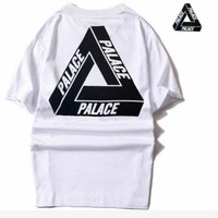 Palace simple white black top blouse shirt