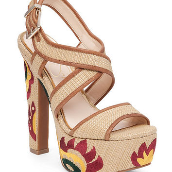 Jessica Simpson Navallo Platform Sandals | Dillards