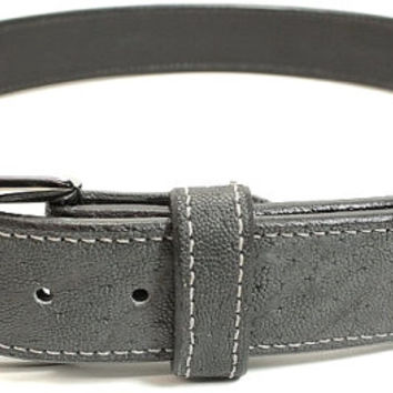 "Genuine Elephant Hide Belt in Grey - Real Elephant Skin - Free Shipping, Lifetime Warranty, and Made to Order - Sizes 30"" to 52"""