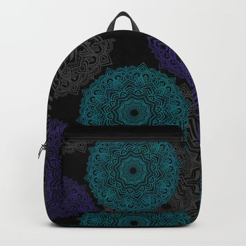 My Spirit Mandhala | Secret Geometry Backpack by Azima