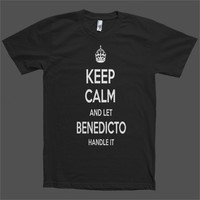 Keep Calm and let Benedicto Handle it Personalized Name T-Shirt
