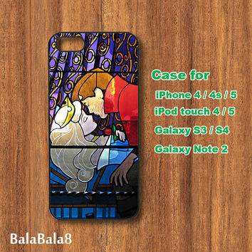 Sleeping Beauty - Blackberry Z10 , Q10 case, iPhone  4 / 5 case,  iPod 4/ 5 case,  Samsung Galaxy S3, samsung Galaxy S4 case, Galaxy note 2