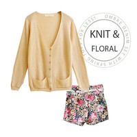 Floral Afternoon Set - Mexy  - New fashion clothing & accessories for smaller size women like you - Mexy Shop
