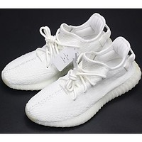 Adidas Yeezy Boost 350 V2 Pure White Sports Shoes F