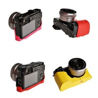 10 Colors! Handmade Genuine Camera Half Leather Case Bag Cover for Sony A6000 a6000(please leave seller a note which color you prefer)