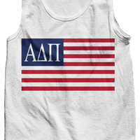 Alpha Delta Pi USA Tank Top