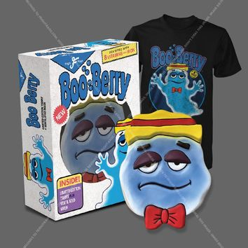 BOO BERRY - LIMITED EDITION MASK AND T-SHIRT - Fright-Rags