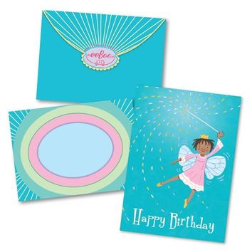 Little Fairy with Wand Birthday Card
