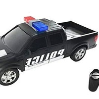 Remote Control RC Police Pickup Truck Vehicle 1:16 Scale Full Function Radio Control