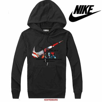 Nike Women Men Casual Long Sleeve Top Sweater Hoodie Pullover Sweatshirt-15