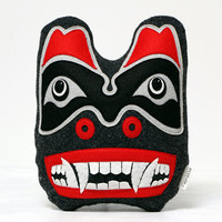 Haida inspired Bear Formline art decoration
