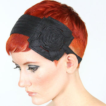 black hat headband
