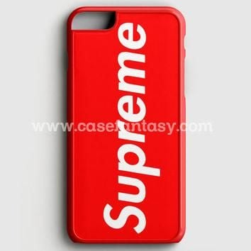 Supreme New York Clothing Skateboarding iPhone 6 Plus 6S Plus Case  afea55afb1aa