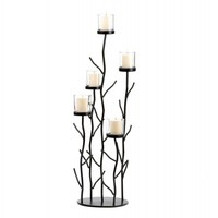Fantastic Iron Sprig Candle Holder