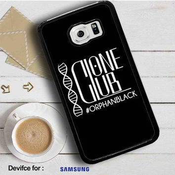 Orphan Black Clone Club Samsung Galaxy S6  Case  Dollarscase.com