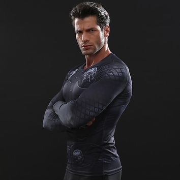 Newest THOR 3D Printed T shirts Men Avengers 3 Compression Shirt 2018 Black Friday Comics Cosplay Costume Long Sleeve Tops Male