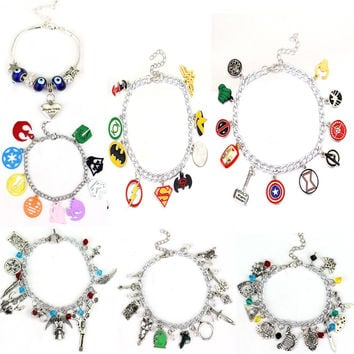Avengers Charm Bracelet Bangle Doctor Who