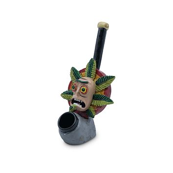 Resin Pipe - Mean Green Rick the Fiend