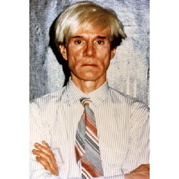 Andy Warhol Poster Standup 4inx6in