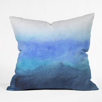 Rebecca Allen Fade Throw Pillow