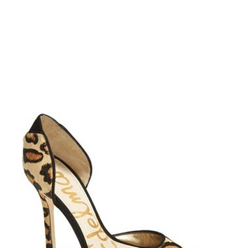 Women's Sam Edelman 'Delilah' Calf Hair d'Orsay Pump,