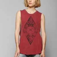 Project Social T Geo Diamond Muscle Tee - Urban Outfitters