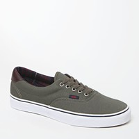 Vans Era 59 Plaid Green Shoes - Mens Shoes - Green