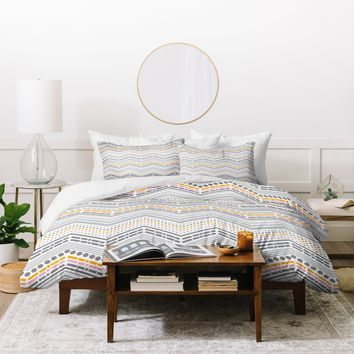Heather Dutton Dash And Dot Neapolitan Duvet Cover