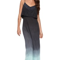 Element Whisper Dress - Womens Dress - Black -