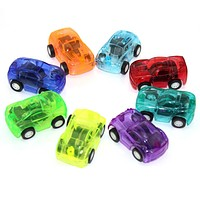 Baby Toys Cute Plastic Pull Back Cars Toy Cars for Child Wheels Mini Car Model Funny Kids Toys for Boys Random Color