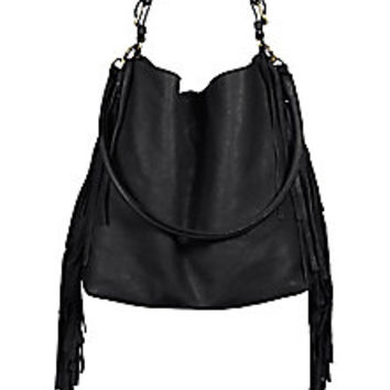 Marni - Side-Fringed Hobo Bag - Saks Fifth Avenue Mobile