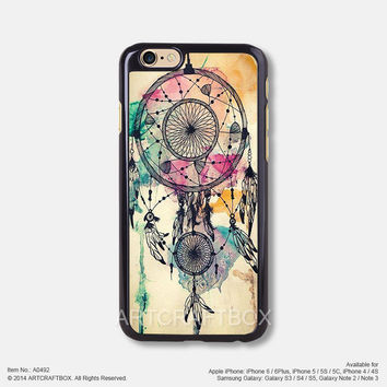 Dream Catcher with Water Color iPhone 6 6Plus case iPhone 5s case iPhone 5C case 492