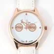 Parisian Bicycle Watch - White