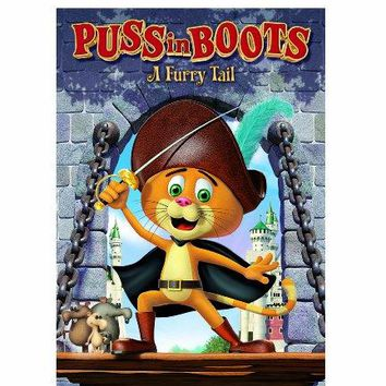 PUSS IN BOOTS: A FURRY TAIL