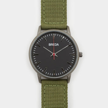 Breda Valor Watch Army Green