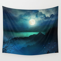Wish You Were Here (Chapter V) Wall Tapestry by Viviana Gonzalez
