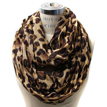 Scarfand's Leopard Infinity Scarf (New Colors Available)
