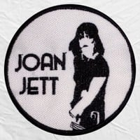 Joan Jett Logo Embroidered Patch & the Blackhearts I Love Rock N' Roll Hard Punk