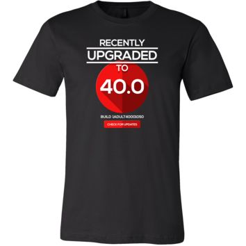 Funny 40th Birthday Version 40.0 Nerdy Gift T-Shirt