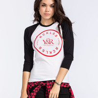 YOUNG & RECKLESS No Slippage Womens Baseball Tee | Raglans & L/S Tees