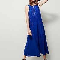Free People Womens Maria Midi Dress