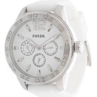 FOSSIL® Men's Silicone Band Watch