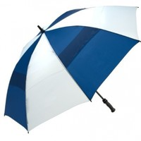 WindJammer by ShedRain 3620-RY/W Royal/White 62-Inch Manual Open Vented Golf Umbrella
