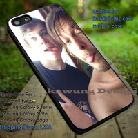 The Walking Dead Carl and Daryl Selfie iPhone 6s 6 6s+ 5c 5s Cases Samsung Galaxy s5 s6 Edge+ NOTE 5 4 3 #movie #walkingdead dt