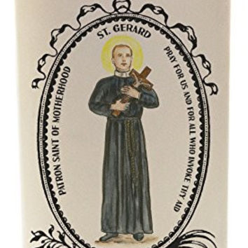 St Gerard Patron of Motherhood 20 oz Soy Scented Prayer Candle