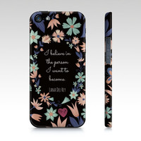 Lana Del Rey iPhone & Galaxy Case  Colorful Word by EverMorePrints