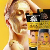 24K Golden Mask Peel Off Anti Wrinkle Anti Aging Facial Mask Face Care Whitening Face Masks Skin Care Face Lifting Firming Mask